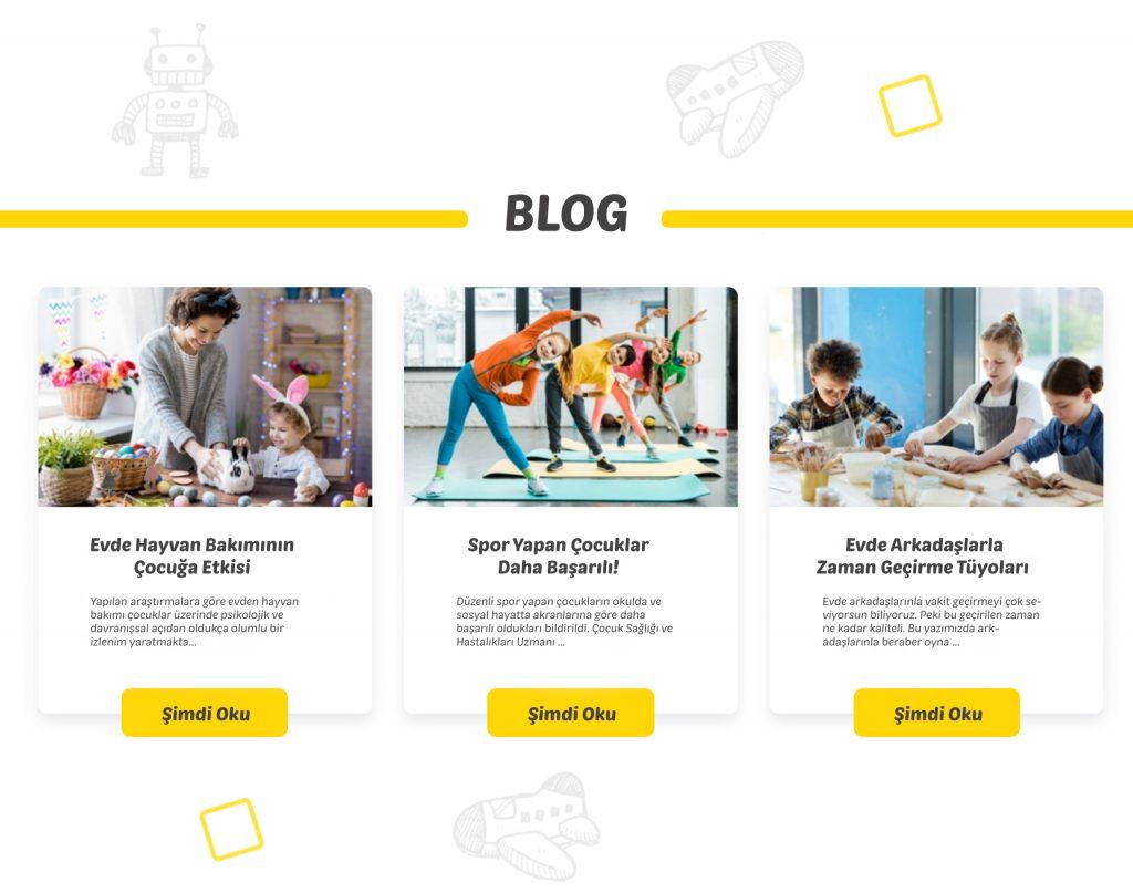 Özel Okul Web Site